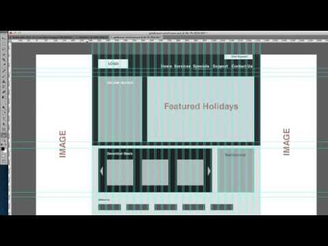 How to mock up using the 960 grid system