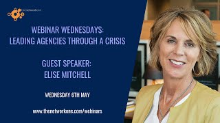 Leading agencies through a crisis with Elise Mitchell