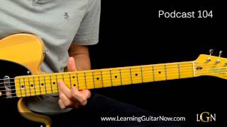 Johnny Lang Blues Lesson Podcast 104