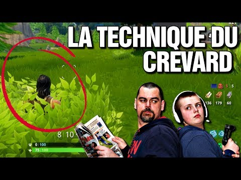 La technique du crevard - Fortnite BR