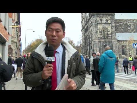 L'accueil discret du pape en Suède