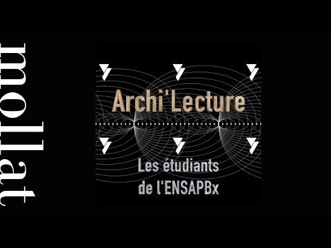 Archi'Lecture - La construction, comment ça marche ?