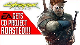 CD Projekt RED Lays The SMACKDOWN on EA -
