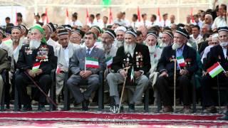 Ахмадинижад дар точикистон