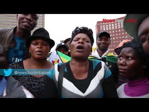 Zimbabweans farewell message to Mugabe