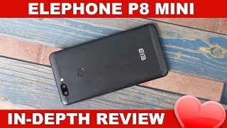 Elephone P8 Mini Review Deutsch