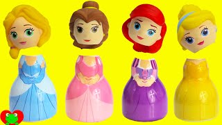 Disney Princess Wrong Heads with Paw Patrol Finding Dory Surprises