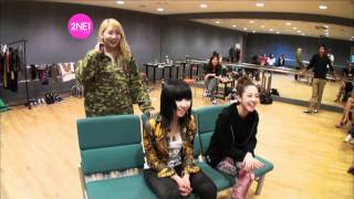 2NE1_TV_Season 2_E02-2_2NE1's filming new MVs