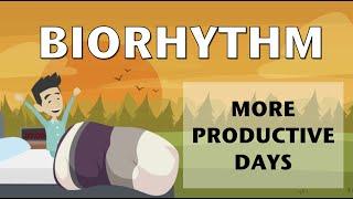 Biorhythm for more productive days