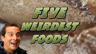 5 Weirdest Foods From Around the World - Spiders, Ant Larvae!