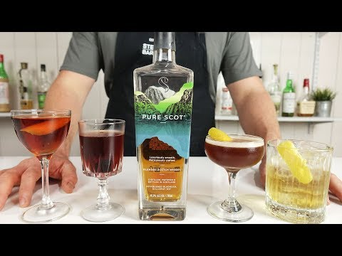 4 MOST POPULAR SCOTCH WHISKY COCKTAILS