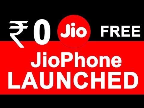 Jio 4G VoLTE Phone Launched in ₹0 | Reliance JIO Feature Phone Details | Delivery & Booking