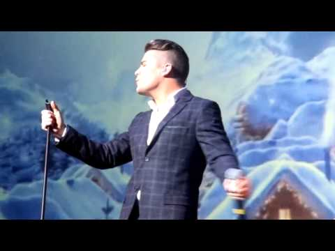 I believe in Father Christmas Joe McElderry Whitley Bay