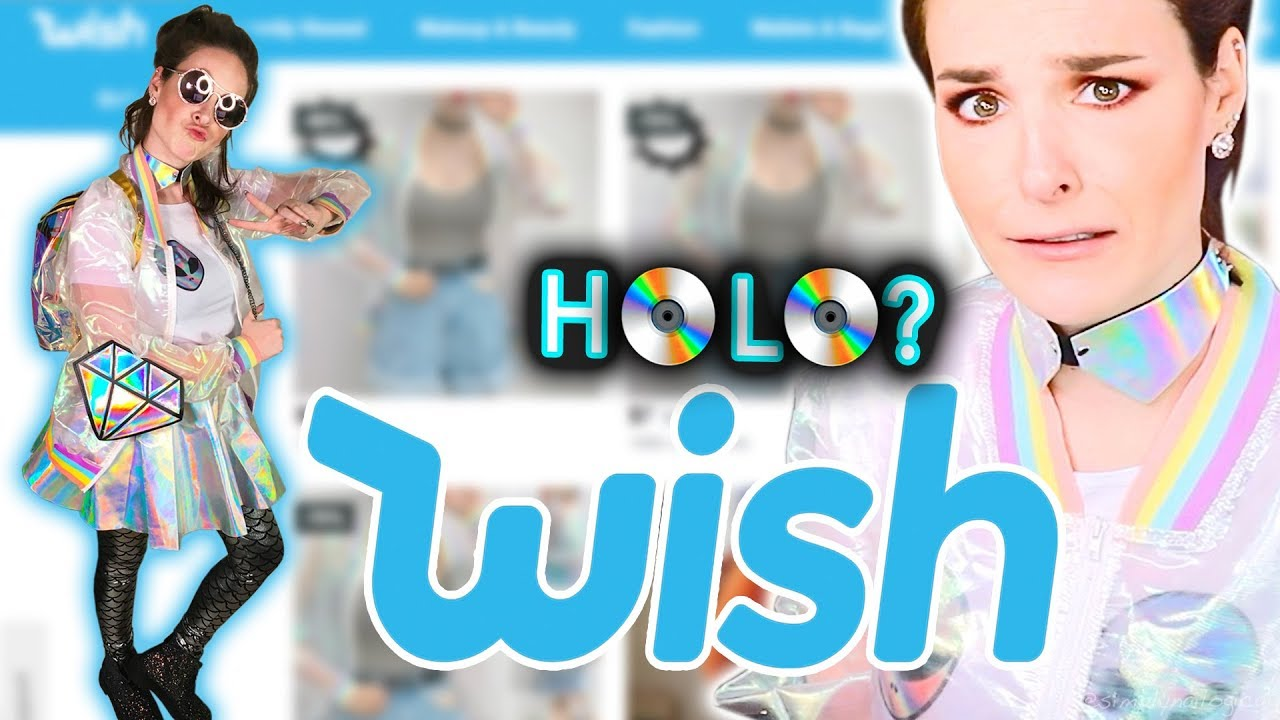 Buying Holographic Things From Wish Things Holo Buy Wish Womens Sale Holo Things Free Wish thumbnail