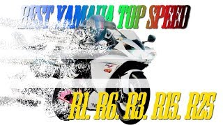 Best Yamaha Top Speed   R1, R6, R3, R15, R25.harley Davidson, Homemade, Crazy Motor, Engines,