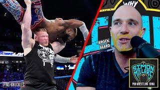 Brock Lesnar Returns To End Kofi Kingston's WWE Title Reign | Simon Miller's Wrestling Show #210