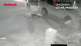 Journalist Shot In Ghaziabad, Incident Caught On CCTV