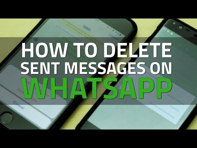 WhatsApp for Android Now Gives You 4,096 Seconds to Delete a