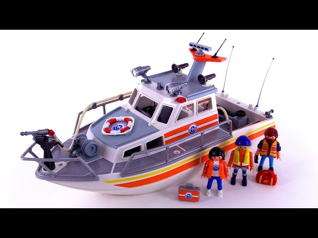Playmobil Coast Guard Rescue Boat review! set 5540