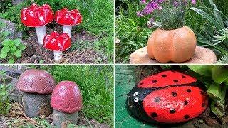 5 идей для сада. Поделки для дачи и сада своими руками