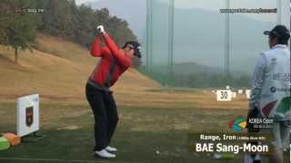 [1080P SLOW] BAE Sang-Moon IRON Golf Swing_Driving Range 2012 (4)