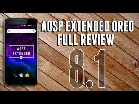 AEX Oreo (8 1 0) ROM for Lenovo K6 Power: Installation and