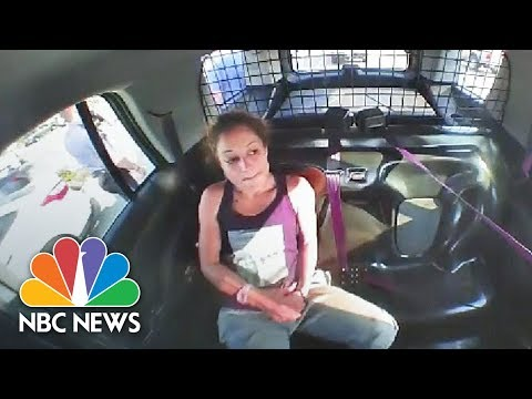 Woman Removes Handcuffs And Steals Police Car | NBC News