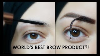 TESTING TATTOO BROWS? |  Eyebrow Makeup Tutorial