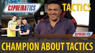 CHAMPIONS about TACTICS: Boxer Oleksandr USYK