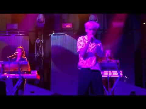 """Troye Sivan performing """"Dance To This ft. Ariana Grande"""" Live in Hershey PA 8/4/18"""