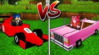 Minecraft ITA - LA MACCHINA DI STEF VS LA MACCHINA DI PHERE!!