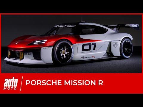 Porsche Mission R : l'avenir du sport auto... et du Cayman ?