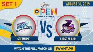 SET 1 | Creamline vs. Choco Mucho | August 31, 2019 (Watch the full game on iWant.ph)