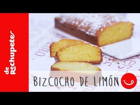 BIZCOCHO DE LIMÓN  - Una receta rápida y fácil De rechupete