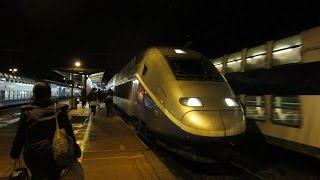 preview picture of video '[Paris] TGV Duplex - Melun (Ligne R Transilien)'
