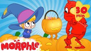 Halloween Pumpkins - My Magic Pet Morphle   Cartoons For Kids   Morphle TV   Mila and Morphle