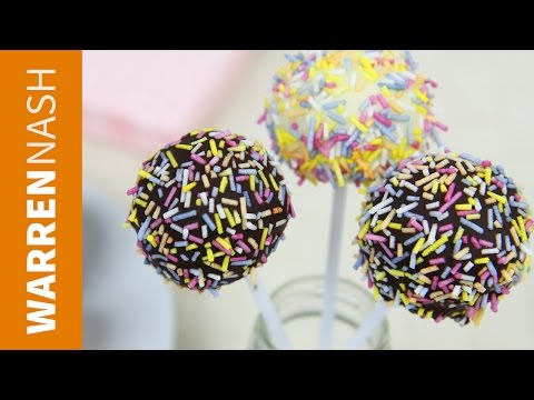 Video Cake Pop Recipe from scratch - Easy for beginners - Recipes by Warren Nash