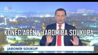 Jaromír Soukup oznámil konec Arény JS