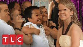 Ana celebra sus 16 años con una fiesta en el jardín | Una gran familia | TLC Latinoamérica