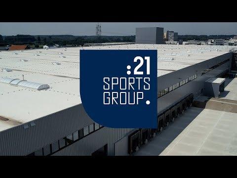 TV-Bericht über die erste Umzugsphase in das neue Logistikzentrum Ketsch der 21sportsgroup.