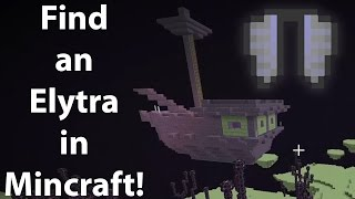 How to Make an END PORTAL and Find ELYTRA | Minecraft Tutorial