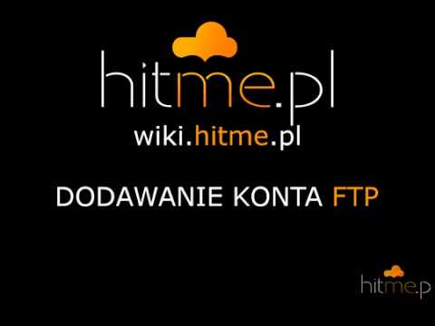 Dodawanie konta FTP