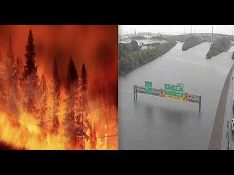 Apocalyptic America - Historic Fires / Historic Floods - Evacuees