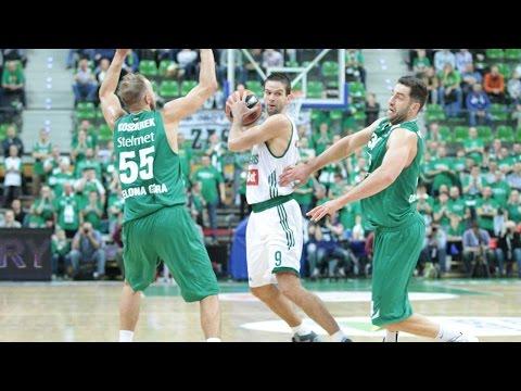Highlights: RS Round 1, Stelmet Zielona Gora 62-66 Zalgiris Kaunas