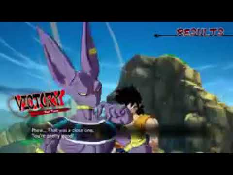 Dragonball FighterZ Ranked Matches Bardock vs Beerus