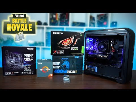Ensamblando PC Gamer económico para jugar Fortnite Battle Royale en 1080p 60fps - Proto HW & Tec