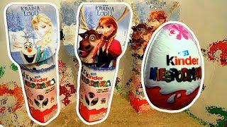 Disney Frozen 8 Elsa and Anna Princess of Arendelle Kinder Surprise Eggs