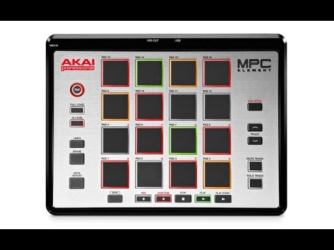 HOW TO USE THE AKAI MPC ELEMENT INSIDE LOGIC PRO X