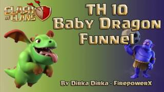 Clash of Clans - EPIC TH10 Baby Dragons