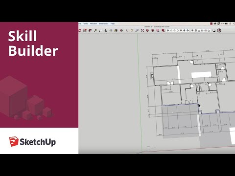 Drawing Interior Walls in SketchUp - Skill Builder